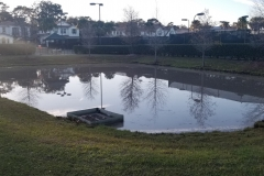 Retention Pond Clean out After - HOA in Winter Park